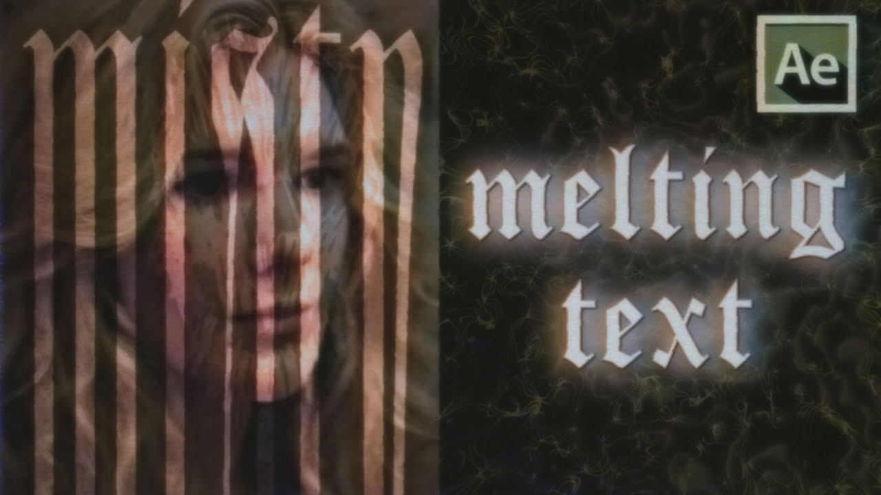 3 melt text effects (transform , cc scale , liquify) | after effects tutorial
