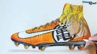 Nike Mercurial Manga Pack - Dragon Ball Cleats | Art