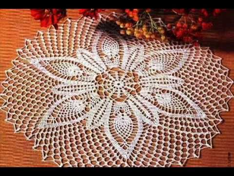 Crochet Me Free Patterns : how to crochet doily free pattern - YouTube