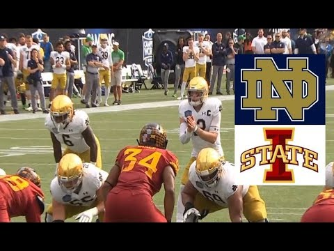 Iowa State Vs Notre Dame Football Bowl Game 12 28 2019