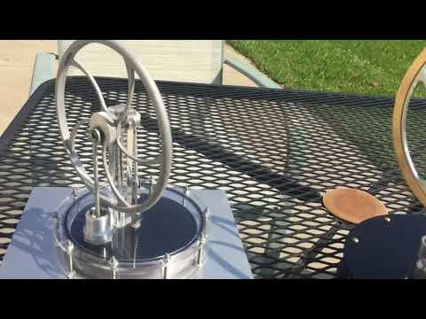 LTD Stirling Engines Running on Solar Energy