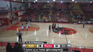 Kell @ Rome Basketball