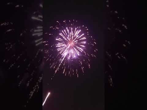 Angell park Speedway firework show