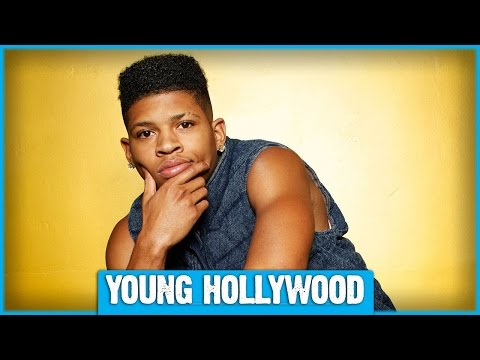 Freestyling with EMPIRE's Bryshere Y. Gray!