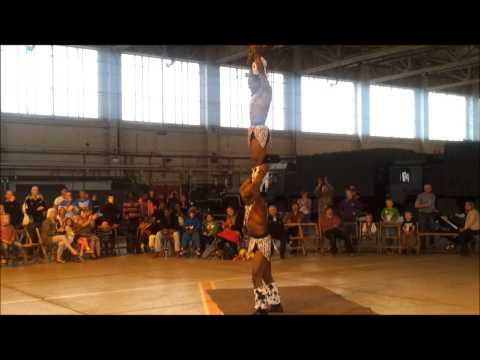 Black Eagles Acrobat Routine