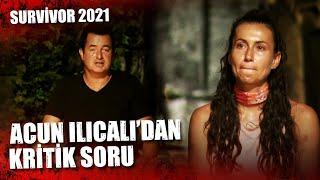 Acun Ilıcalı'dan Gonca'ya UYARI   Survivor 2021