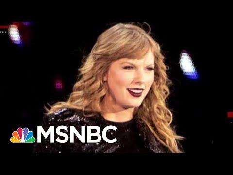 Swift Results: Voter Registration Spikes After Star's Endorsement Of Democrats | Deadline | MSNBC