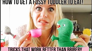 How to Get a Fussy Toddler to Eat!