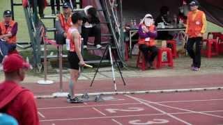 桃園縣中小學聯合運動會  大溪國中男子組 4x400公尺接力決賽