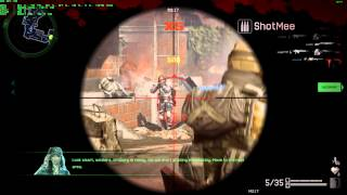 Warface Gameplay PC - Mission PvE Coop as Sniper - Max Quality Settings Full HD - OSD/FPS