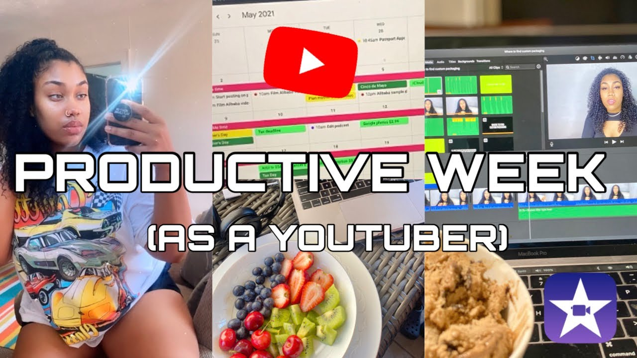 A STRESSFUL YET PRODUCTIVE WEEK AS A YOUTUBER (WHAT YOU DON'T SEE)