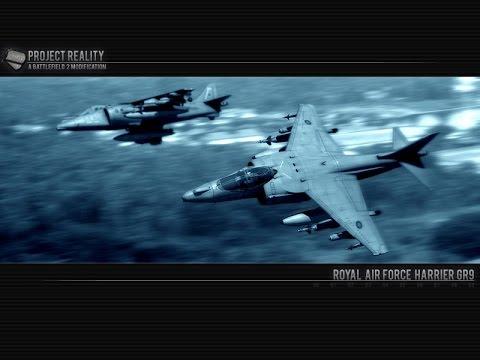 Project Reality v1.3.5 BF 2 на русском. Учимся летать на самолете. Военный симулятор на ПК.