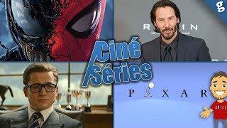 Spider-Man ft Venom, Feige répond / Keanu Reeves / Kingsman Prequel Titre / Nouveau Pixar