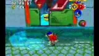 Sonic Heroes-Grand Metropolis Team Sonic A Rank