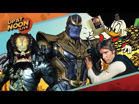 Super Rare Video Game Antiques, Infinity War, & Violent Indie Games - Up At Noon Live!