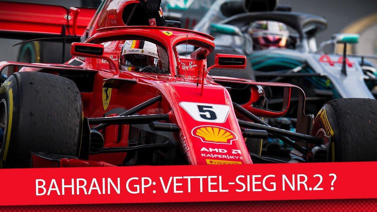Formula 1: Sebastian Vettel wins the Bahrain Grand Prix
