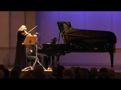 Gudrun Schaumann & Anthony Spiri play Woldemar Bargiel Sonata f minor op. 10 for violin &piano