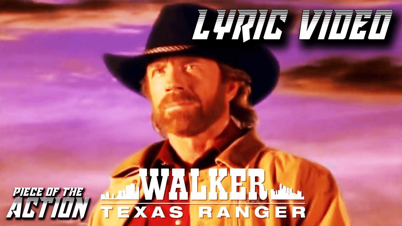 The Eyes Of A Ranger Lyric Video | Walker, Texas Ranger