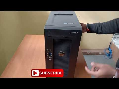 Dell Poweredge T30 Tower Server Unboxing