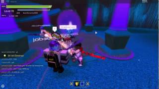 Sword Burst 2 Roblox Taking a new friend to boss!!