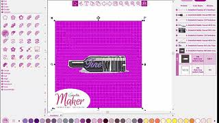 Embellish Maker: Quilt Around A Design Without CraftNCut