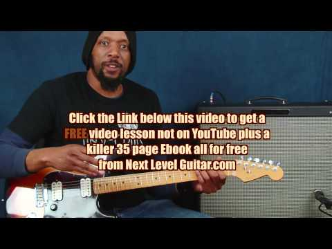 Learn Rock Guitar Alice In Chains inspired dark Drop D tuned rhythm riff ideas lesson