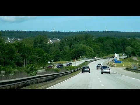 Autobahn A61 Stau