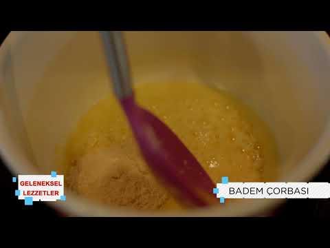 Geleneksel Lezzetler   Badem Çorbası