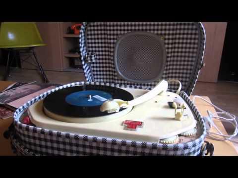 Teppaz Vintage Portable Record Player - Video No3