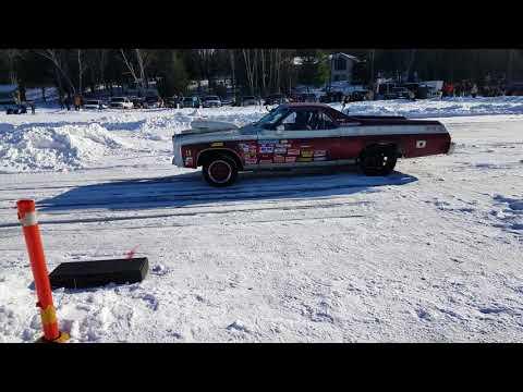 Roadkill ice drags in Merrill Wisconsin