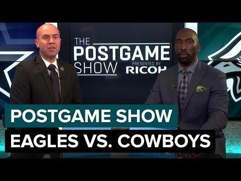 Philadelphia Eagles vs. Dallas Cowboys Postgame Show | 2018 Week 10