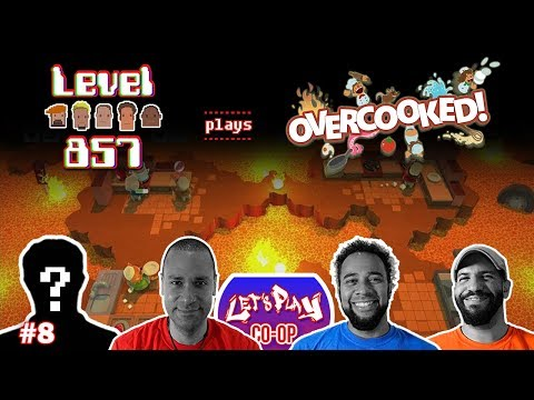 Let's Play Co-op: Overcooked! Special Edition | 4-Player Gameplay | Nintendo Switch | Walkthrough #8