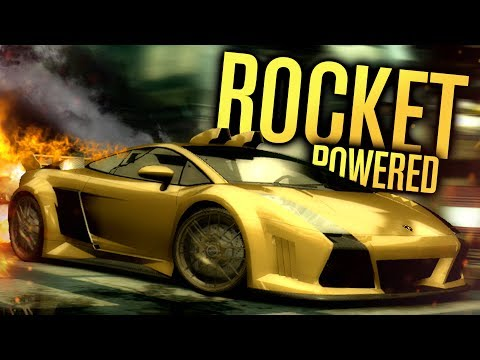 ROCKET POWERED LAMBORGHINI* (BASICALLY) | Need for Speed Most Wanted Let