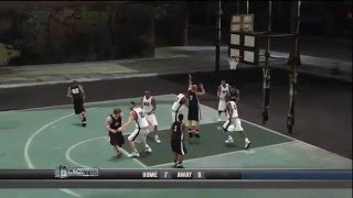 NBA 2K10 (Xbox 360) Blacktop 5-on-5 21 Gameplay: Rappers vs. NBA Stars