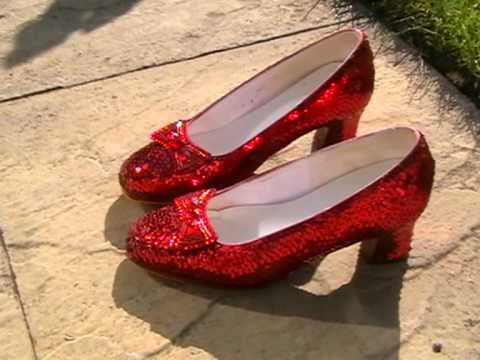 Oz Red Shoes