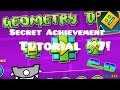 "Geometry Dash   ""The Vault"" Secret Achievement/Code Tutorial #7! (2.0)"