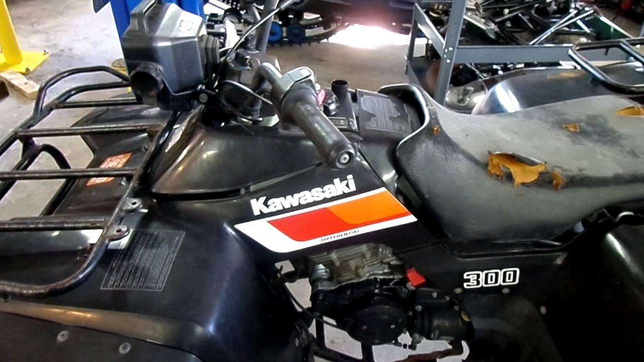 medium resolution of 1987 kawasaki bayou 300 2wd for sale parting out only