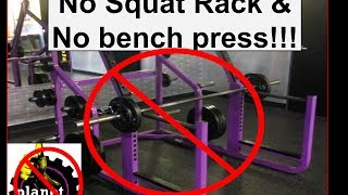 Planet Fitness Gym: Workout Without Squat Rack Or Bench Presss