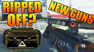 advanced warfare new ak 47 m16 cel 3 cauterizer did we get ripped off or just bad luck