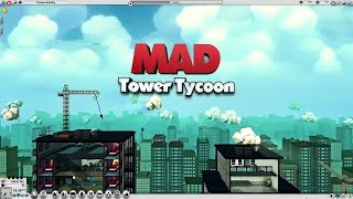 MAD TOWER - Gameplay Trailer 2018 Design  manage your own Skyscraper