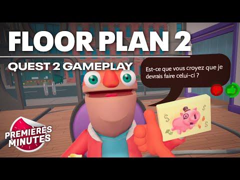 Floor Plan 2 - Gameplay Oculus Quest | Quest 2