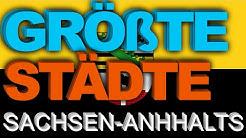 55 GRÖßTE Städte Sachsen-Anhalts   BesserWissen