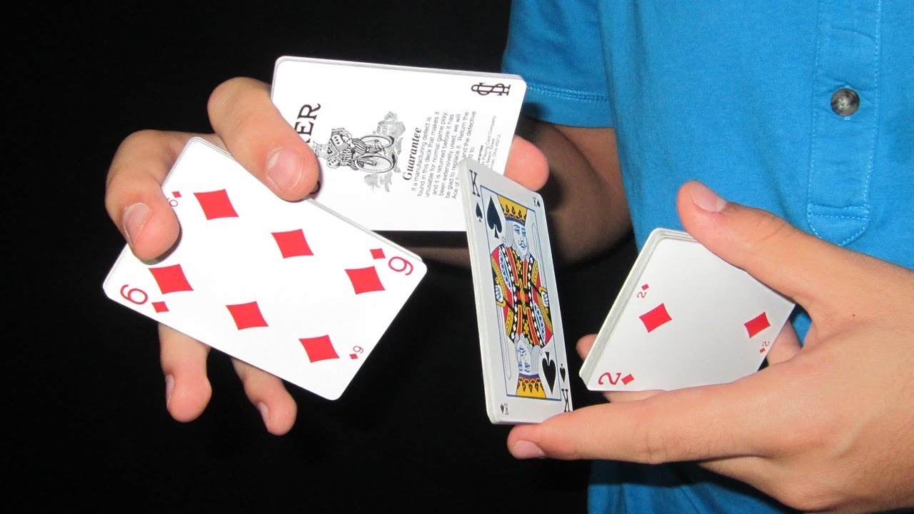 how to do magic tricks with cards pdf