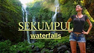 САМЫЙ КРАСИВЫЙ ВОДОПАД НА БАЛИ СЕКУМПУЛ -  Sekumpul Waterfall Bali ИНДОНЕЗИЯ VLOG