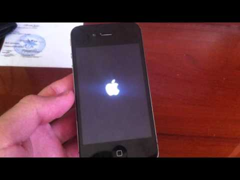 Простой способо выйти в меню на 5 секунд без активации Iphone 4 (ios7.1.2) - вопрос