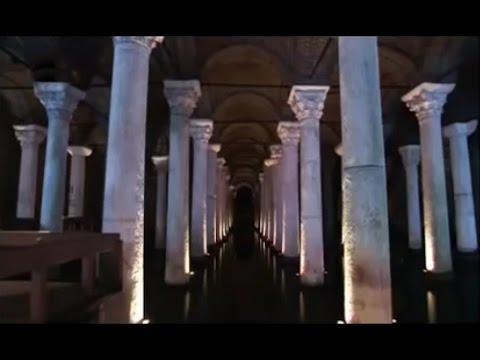 İstanbul tarihi su kemerleri ve yerebatan sarayı (sarnıcı)