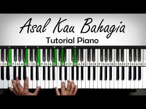 Tutorial Piano - Asal Kau Bahagia - Armada | Belajar Piano Keyboard