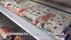 Metos Sushilaitteilla tehokasta sushin tuotantoa