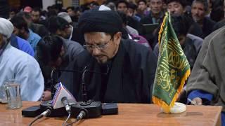 ||sha-be-qadr on 21st Ramzan Part 01|| SYED KAZIM SABERI AT HUSSANI-e-ZEHRA SALISKOTE || KARGIL ||