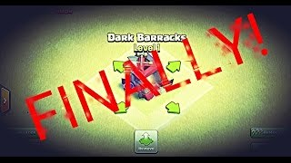 GETTING DARK BARRACKS! Clash of Clans Gameplay